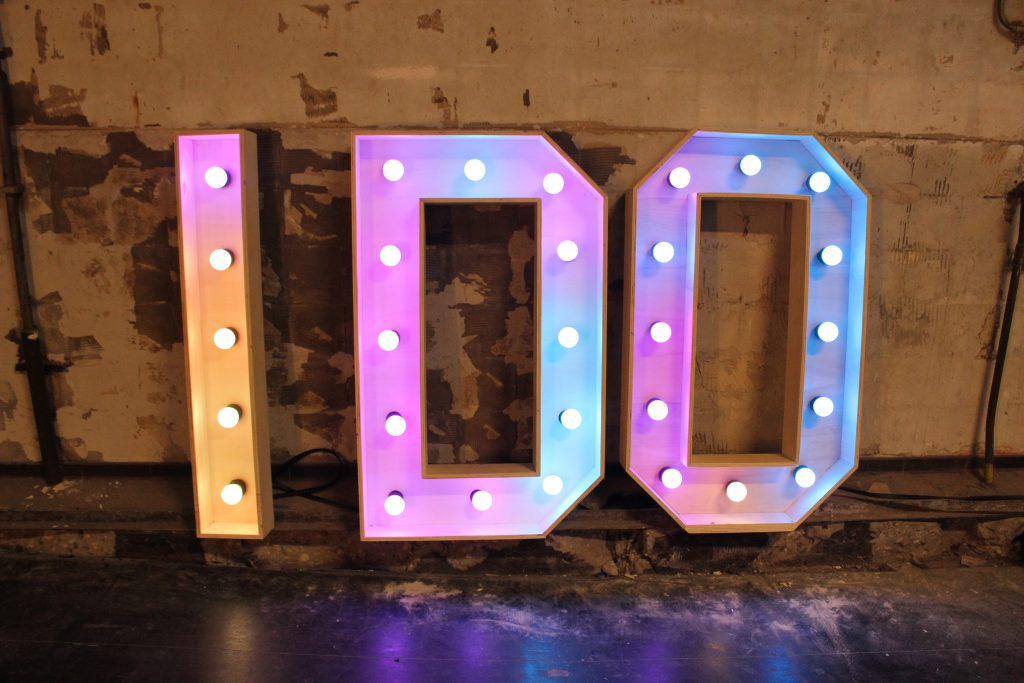 LED Letters huren rgb