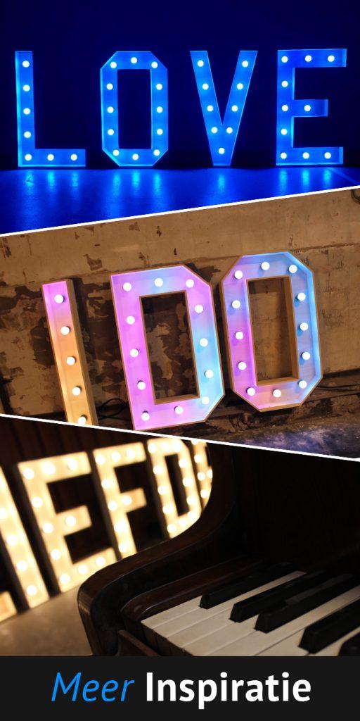 Inspiratie XL Licht Letters