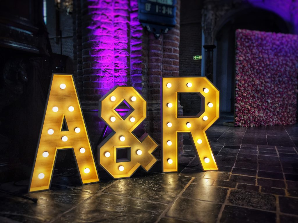 XL LED Letters (lichtletters) huren
