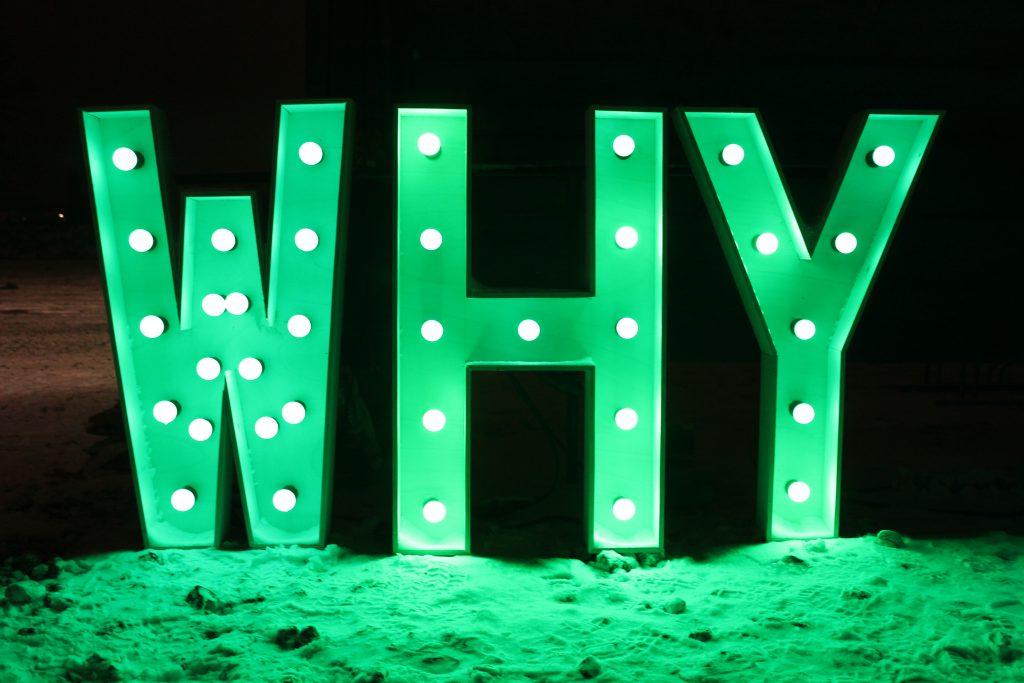 Waarom lichtletters