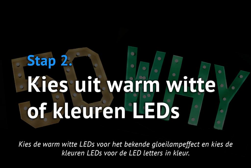 Stap 2 - LEDs