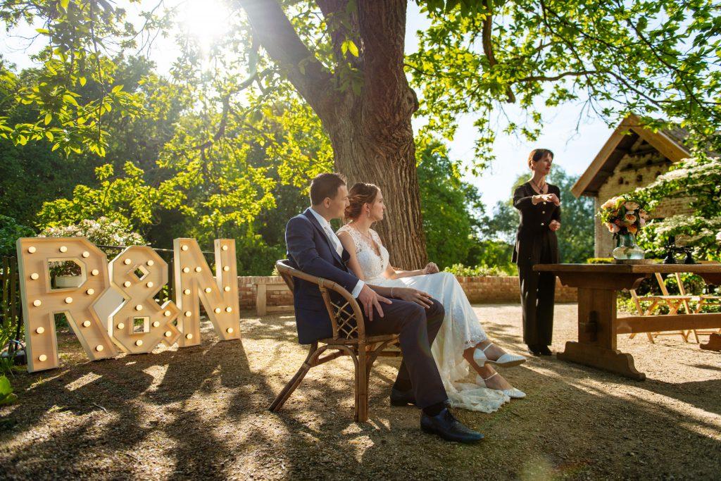 Bruiloft-letters huren