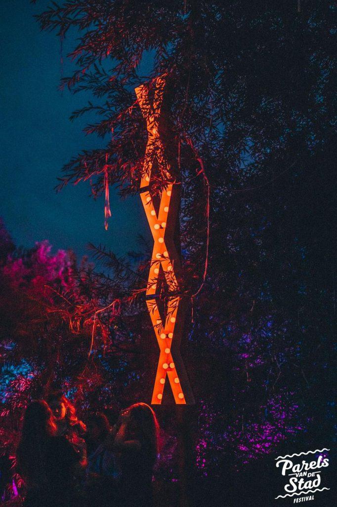 Lichtletters kruis