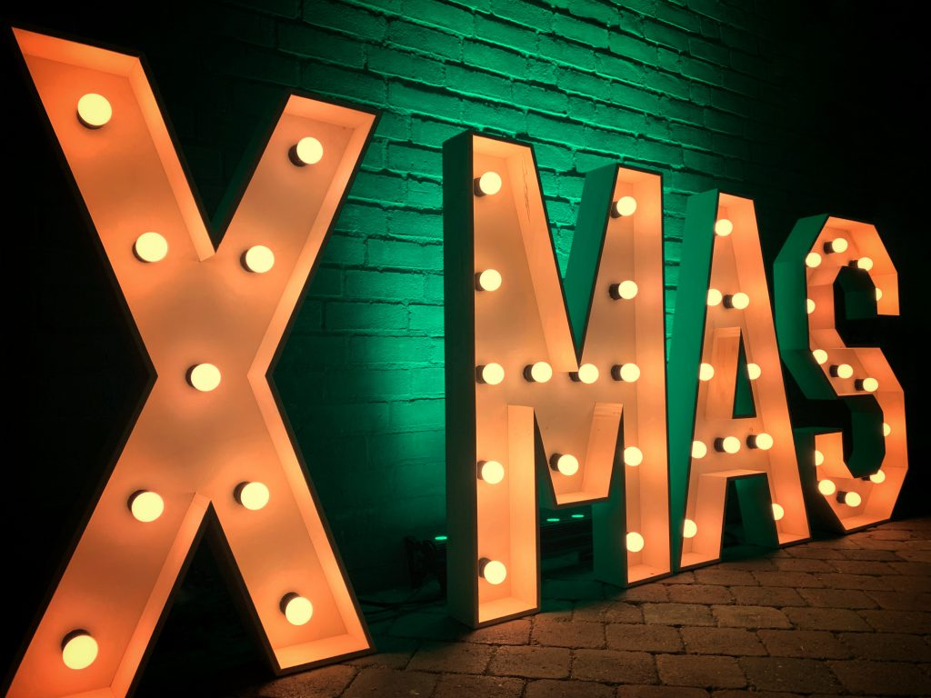 XMAS Lichtletters