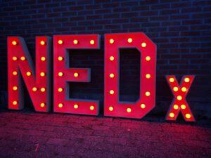 NEDx (2) - XL Lichtletters