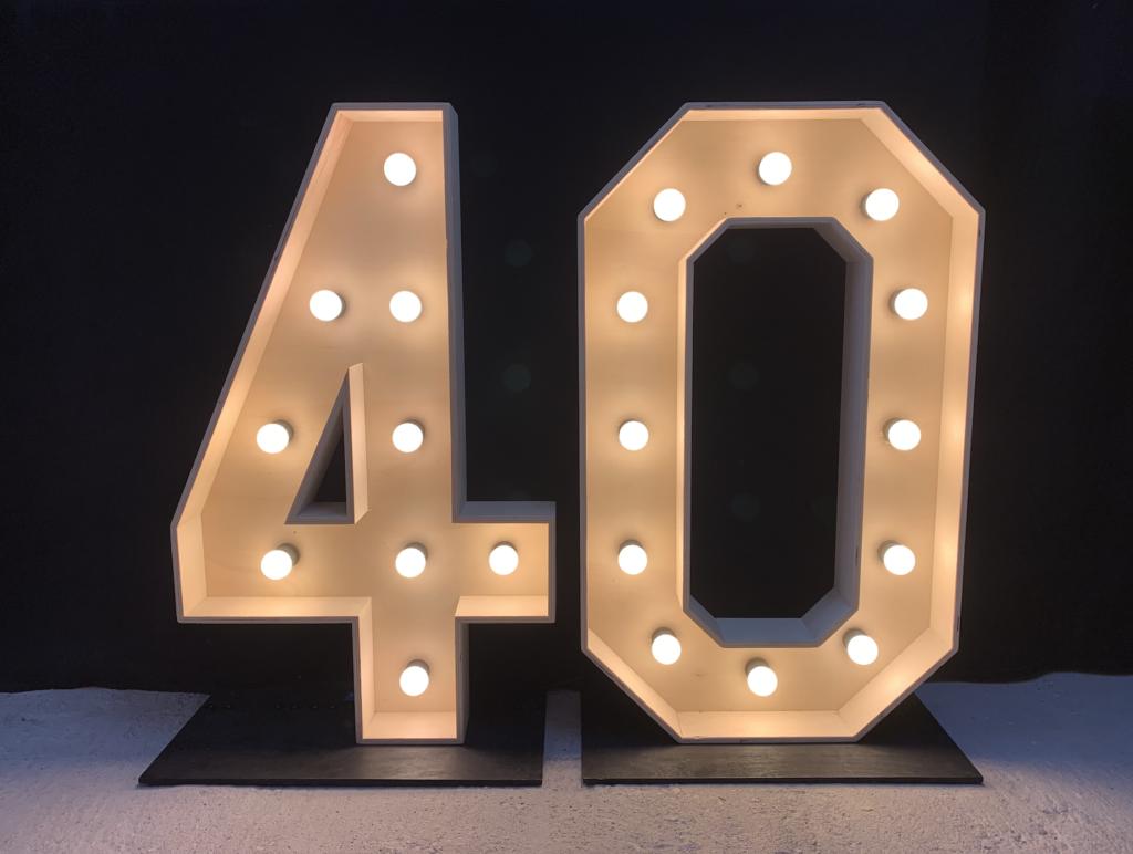 Lichtletters 40